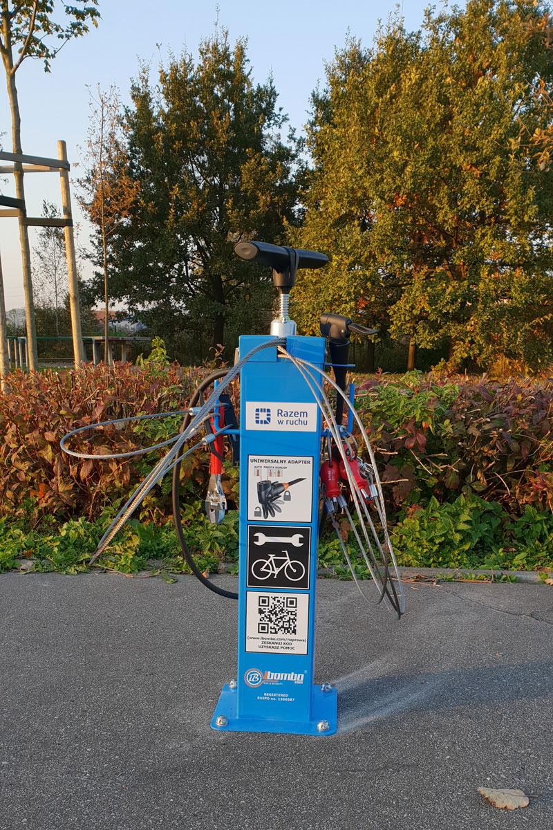 Estación de reparación de bicicletas Junior Plus